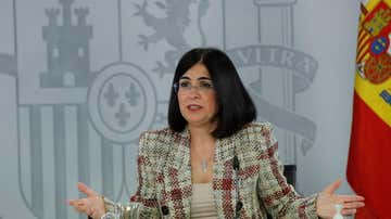 Carolina Darias, ministra de Sanidad