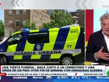 Desalojan una 'fiesta funeral' en la que 22 personas velaban a un fallecido con música y alcohol en Lleida