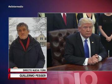 """Guillermo Fesser, sobre el 'impeachment' a Trump: """"Los senadores juzgan a un señor que mandó una turba para matarles"""""""