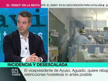 """La advertencia de César Carballo tras el anuncio de la Comunidad de Madrid: """"Nunca vamos a poder bajar de los 200"""""""