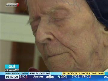 Una monja de 116 años, la mujer más longeva de Europa, supera el coronavirus