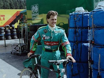 Michael Schumacher, en Jordan