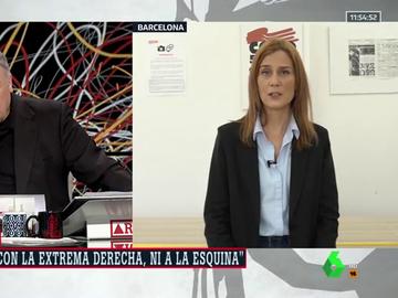 La candidata de En Comú Podem, Jessica Albiach