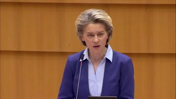 """Ursula Von der Leyen admite que la Comisión Europea fue """"demasiado optimista"""" con la entrega de las vacunas del coronavirus"""