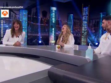 """La reacción de Nuria Roca con los piropos de Omar Montes con su marido cerca: """"Eso también se lo dices a Susanna Griso"""""""