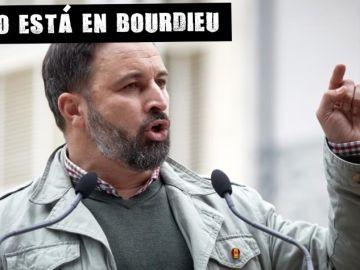 El líder de Vox, Santiago Abascal, durante un acto electoral en Figueres (Girona)