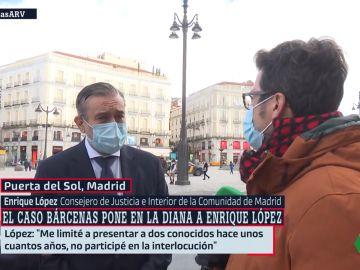Enrique López, entrevistado en Al Rojo Vivo