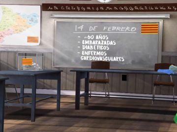 Así se votará en las elecciones catalanas del 14F