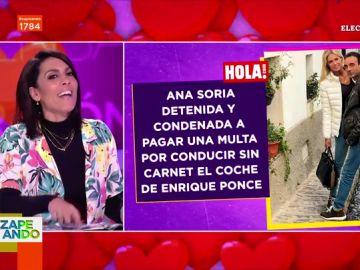 El análisis de Lorena Castell tras la detención de Ana Soria con Enrique Ponce