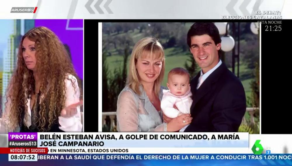 """Belén Esteban zanja la polémica con María José Campanario y advierte de que ejercitará """"las acciones legales oportunas"""""""