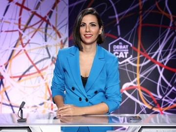 Ana Pastor moderó 'El Debat' de las elecciones catalanas