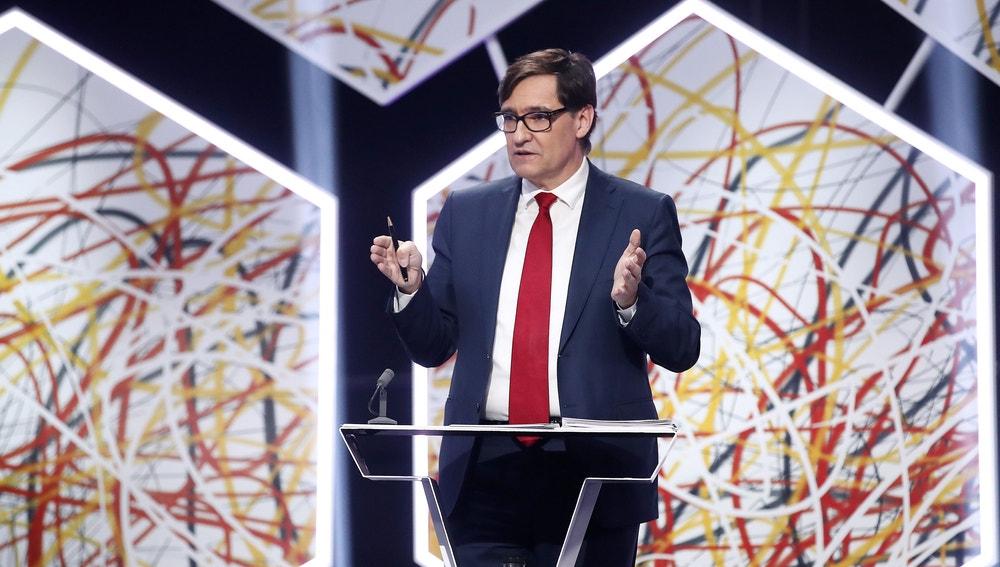 Salvador Illa (PSC), en 'El Debat' de laSexta