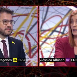 """Albiach a Aragonès: """"Llevan en el Gobierno desde 2015, y si no tienen una Conselleria de feminismo es porque gobiernan con la derecha"""""""