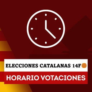 Horario colegios electorales elecciones Cataluña