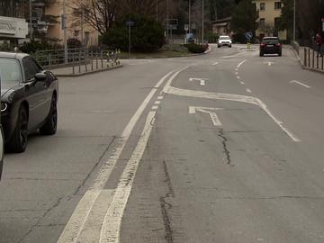 'Jugones' muestra el lugar donde Fernando Alonso fue atropellado