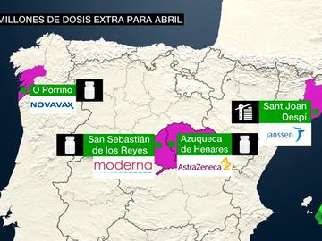 España, a las puertas de la vacunación masiva: en abril podríamos tener 100 millones de dosis