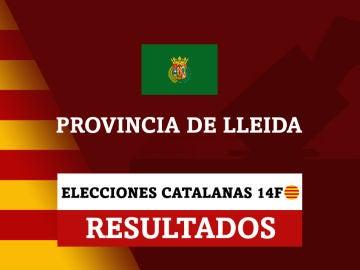 Resultados de las elecciones en la provincia de Lleida