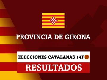 Resultados de las elecciones catalanas en la provincia de Girona (Gerona)