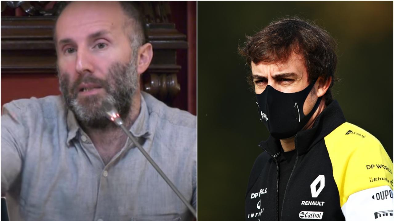 Gonzalo Pérez Jácome y Fernando Alonso