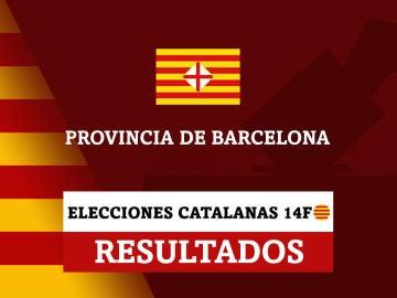 Resultados de las elecciones en la provincia de Barcelona