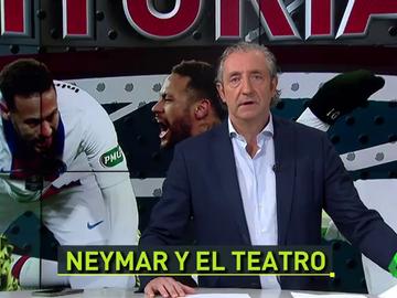 """Pedrerol: """"Protejamos a los artistas, protejamos a Neymar"""""""