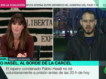 """Pablo Hasél: """"No solicitaré un indulto, implica arrepentimiento y no tengo nada por lo que pedir perdón"""""""