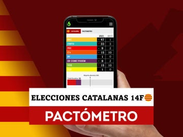 Consulta los resultados y pactos con el Pactómetro de las elecciones catalanas
