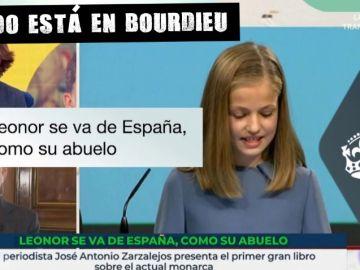 Imagen del rótulo emitido por TVE