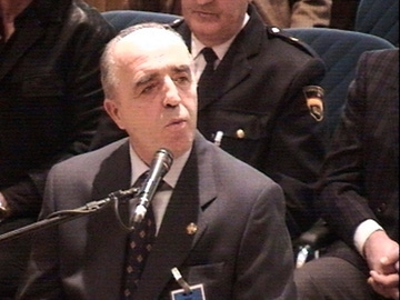 El exgeneral de la Guardia Civil Enrique Rodríguez Galindo