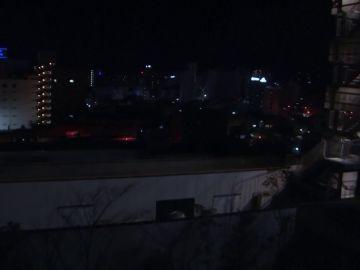Primeras imágenes del fuerte terremoto de magnitud 7,3 registrado en Japón