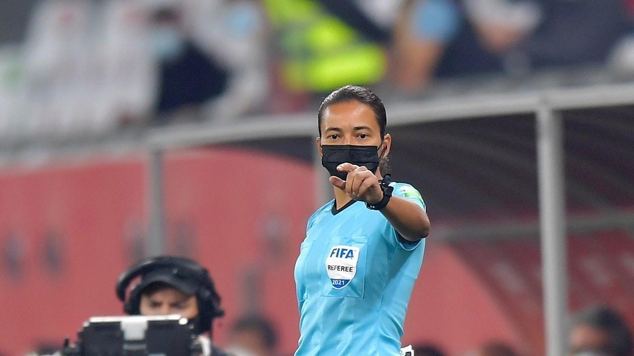 Edina Alves Batista, una de las árbitras de la final del Mundial de Clubes