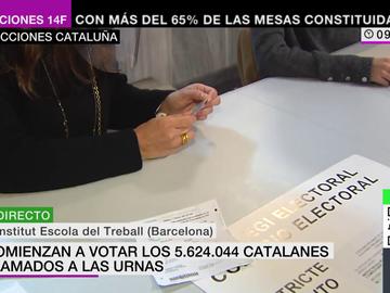 Los fallos de seguridad en una atípica jornada de votación en Cataluña
