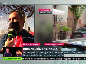 Habla el cuñado del hombre agredido en Linares en Liarla Pardo