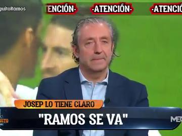 """Pedrerol: """"No veo ninguna posibilidad de que Sergio Ramos se quede en el Madrid"""""""
