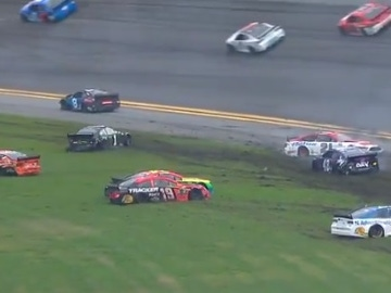 Accidente en la NASCAR