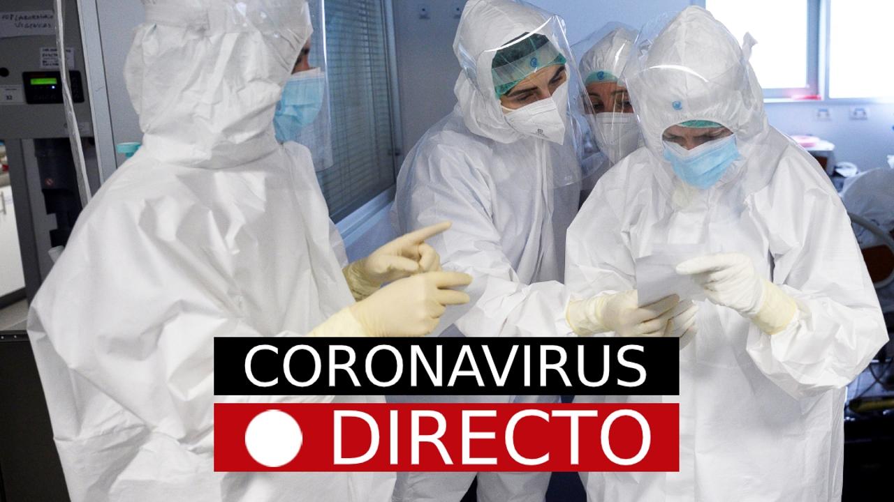 Sigue la última hora del coronavirus en directo