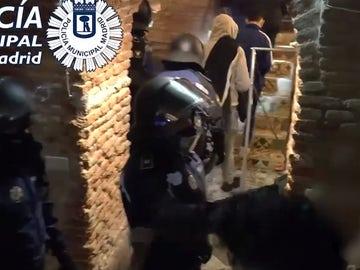 La Policía interviene una fiesta ilegal en Madrid