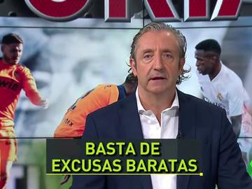 """Pedrerol: """"Hay que empezar a señalar a los jugadores a los que el Valencia les da lo mismo"""""""