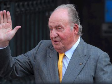 Imagen de archivo del rey emérito Don Juan Carlos