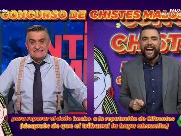 Wyoming y Dani Mateo tratan de restituir el honor de Cristina Cifuentes con un concurso de chistes malos sobre el 'caso Máster'