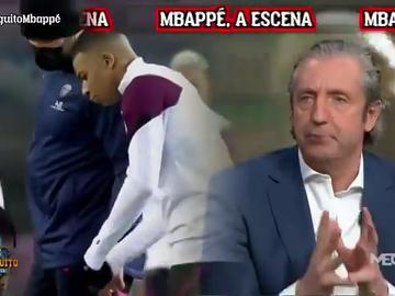 "Pedrerol: ""Ante el Barça, Mbappé tiene que empezar a ser del Real Madrid"""