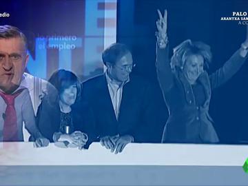 """Los momentazos del PP en Génova 13: de las cosquillas de Aznar a Botella ante la mirada """"no del todo clara de Rato"""" a los saltos de Aguirre"""