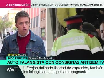 """Íñigo Errejón insta al Gobierno a indultar a Hasél """"ya"""": """"Ha tenido que entrar en prisión para que aparezca la voluntad política"""""""