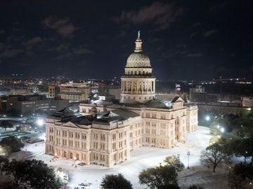 Nevada en el Capitolio de Austin, Texas