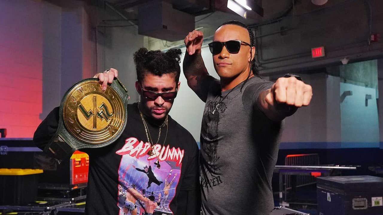 Bad Bunny, campeón 24/7 de la WWE