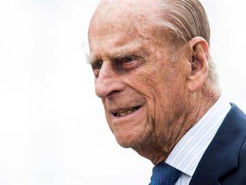 El duque de Edimburgo, en una foto de archivo.
