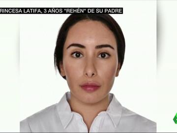 La princesa Latifa, secuestrada.