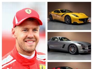 Los coches deportivos de Sebastian Vettel