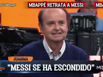 """La canción de Juanma Rodríguez tras la caída del Barça: """"Messi está escondido..."""""""