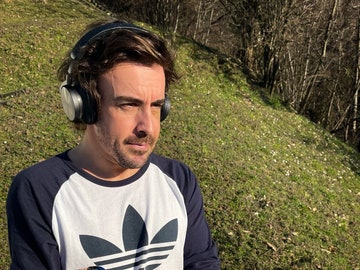 Primera imagen de Fernando Alonso entrenado tras el accidente